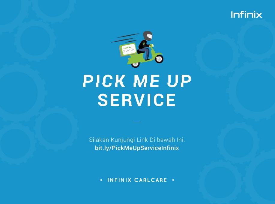 Program Layanan Pick Me Up Infinix