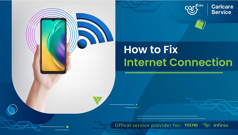 how to fix internet connection