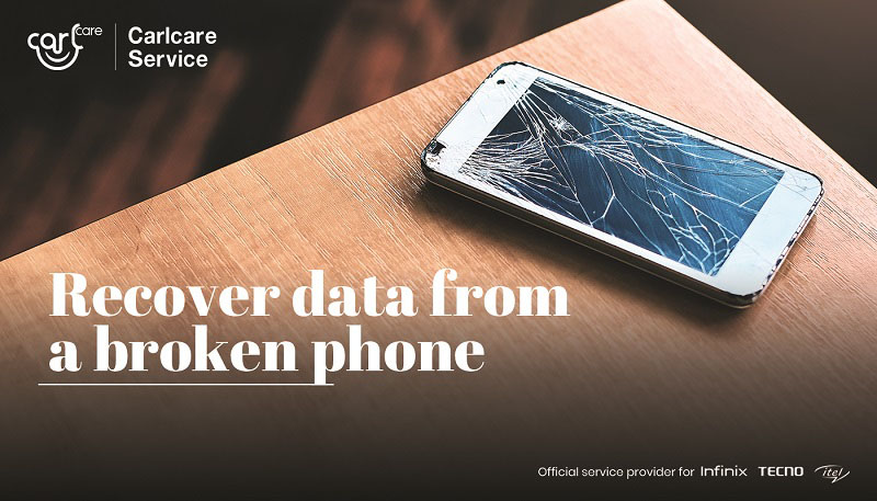 how to recover data from broken phone
