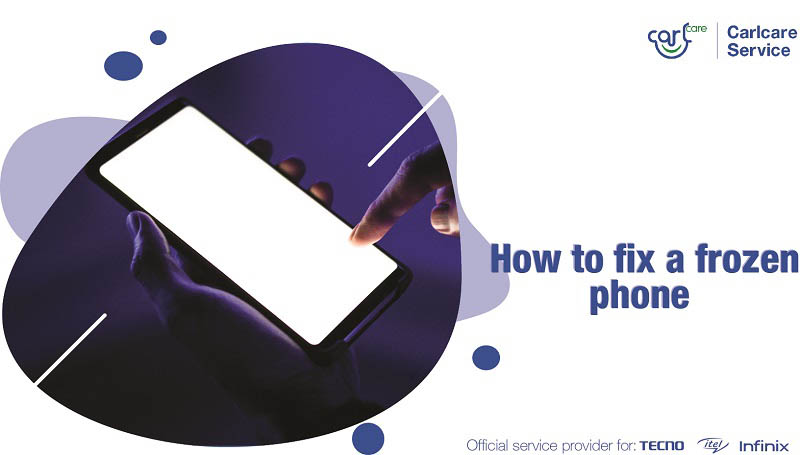 how to fix a frozen phone