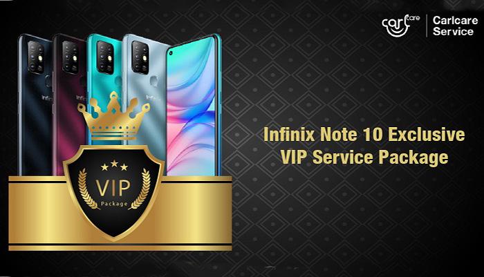 Service VIP exclusif d'Infinix Note 10