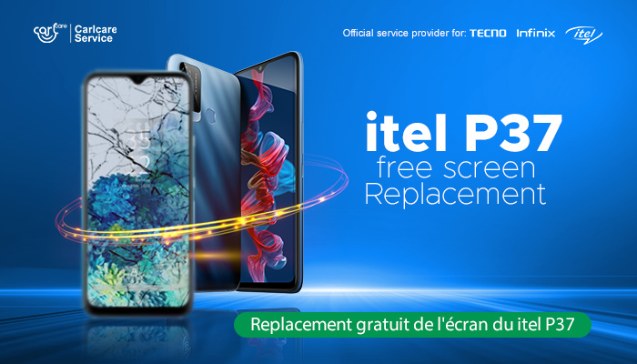 itel p37 free replacement