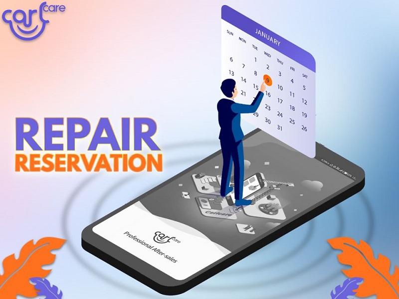 carlcare repair reservation