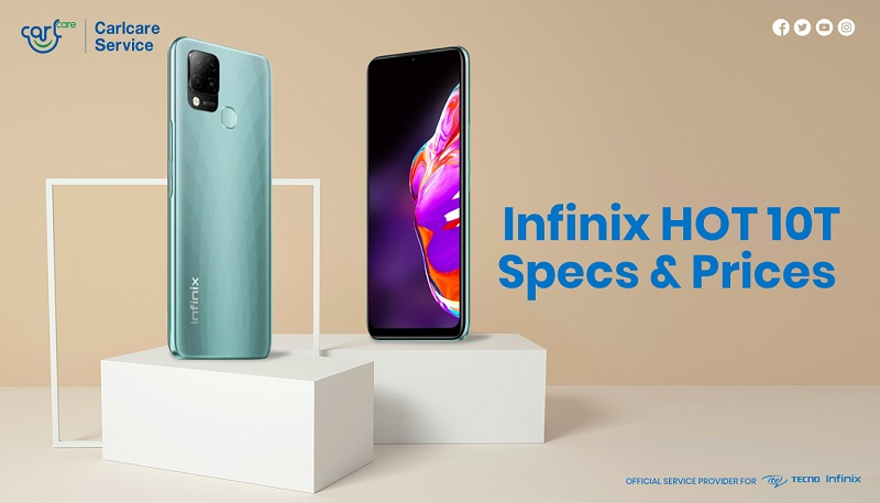 infinix hot 10t prices and specs