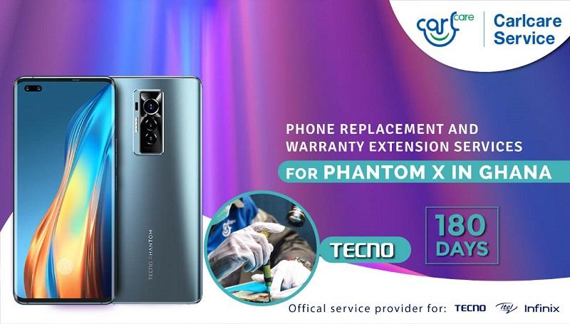 VIP service for tecno phantom x in ghana
