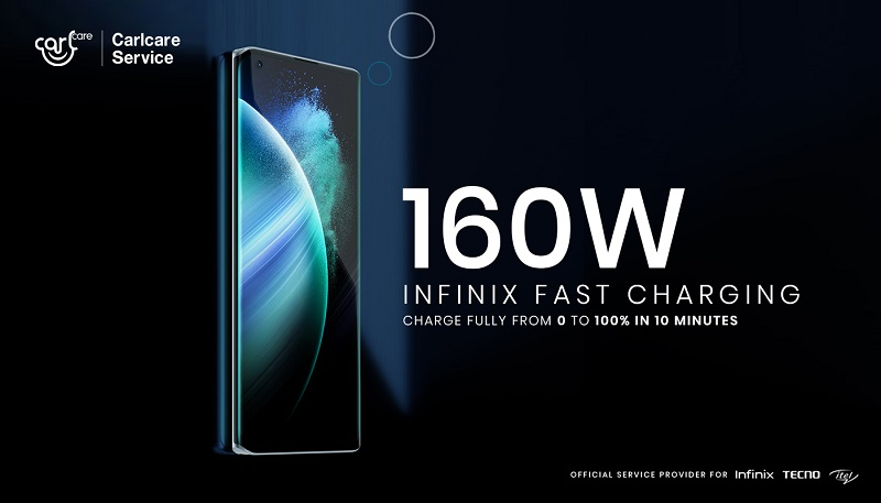 Infinix's 160w Fast Charging Concept Phone 2021