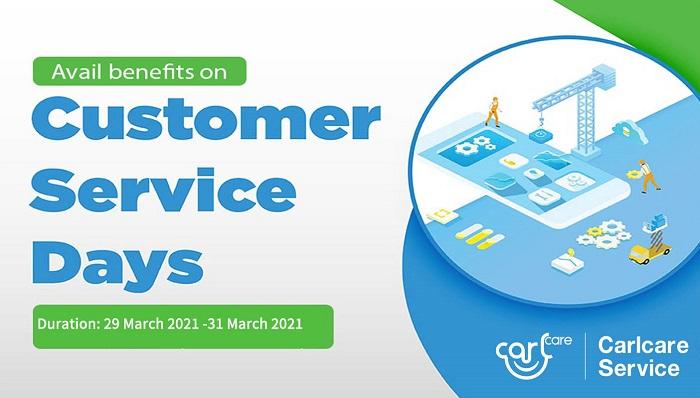 carlcare customer service day