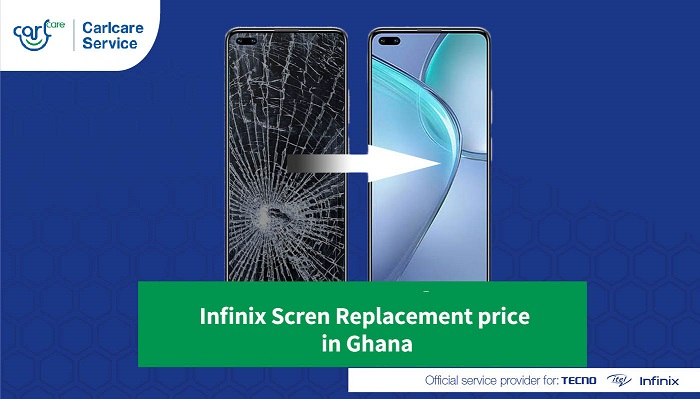 infinix screen replacement price in ghana