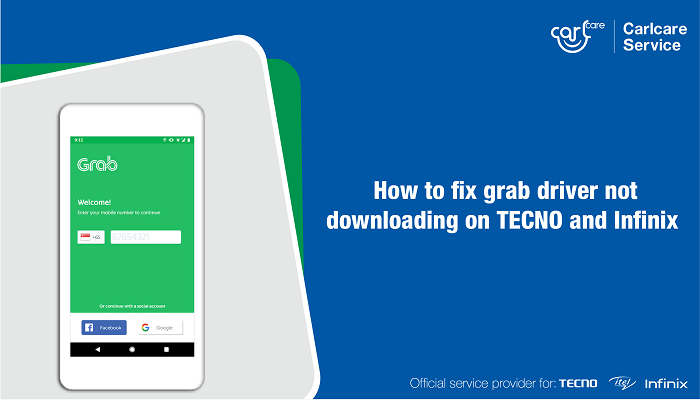 grab driver not downloading in play store