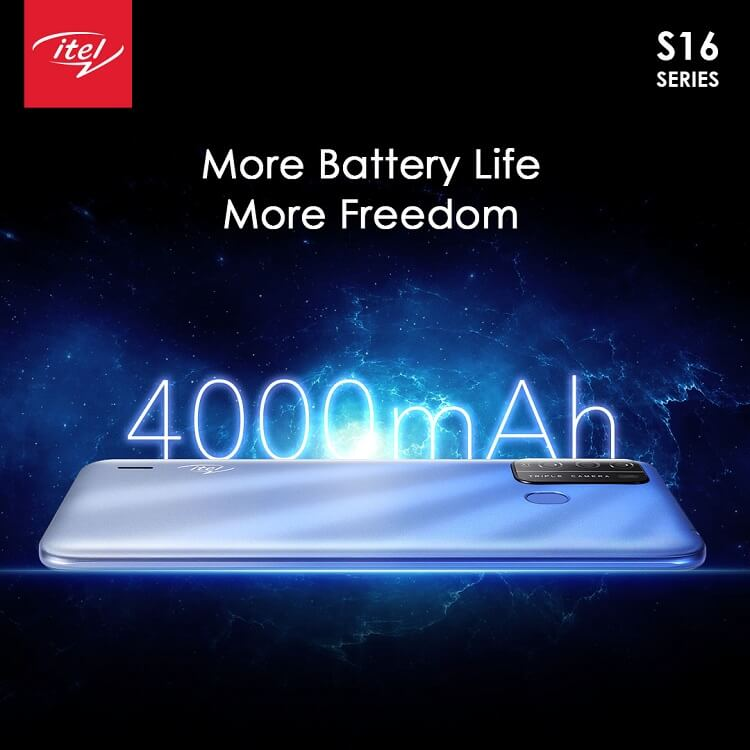 itel s16 mobile battery
