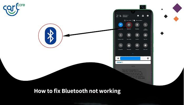 tecno bluetooth not working