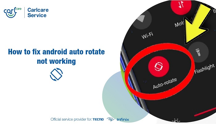 fix android auto rotate not working