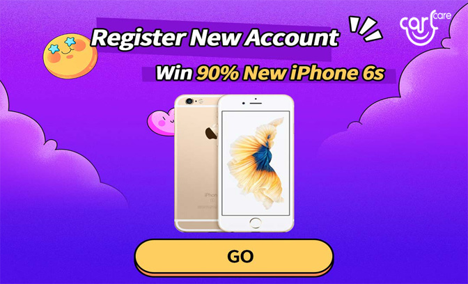 iphone lucky draw at Carlcare