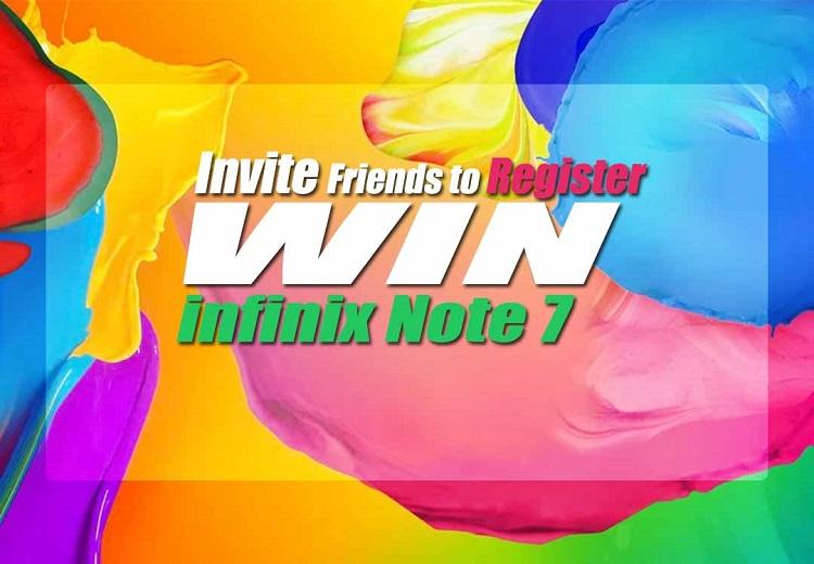 infinix note 7 giveaway