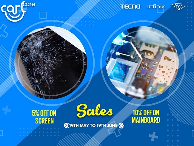 special offer on screen