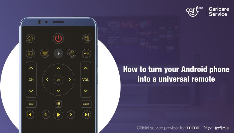 How to turn an android phone into a universal remote control