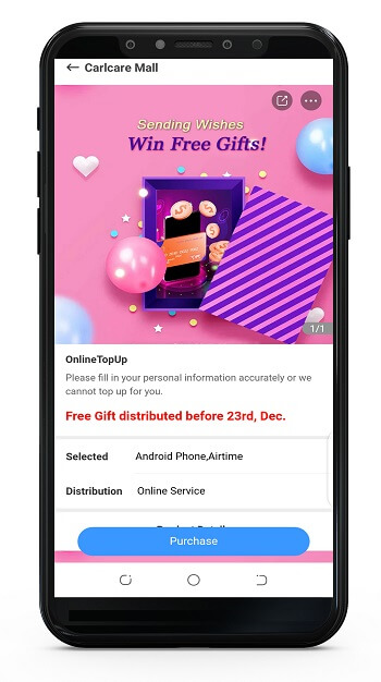 send wishes to win free airtime
