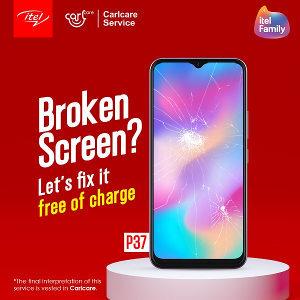 itel p37 screen replacement