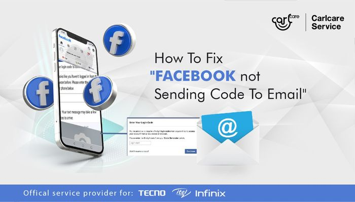 How to fix Facebook not sending code to Email