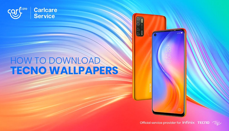 how to download tecno wallpapers