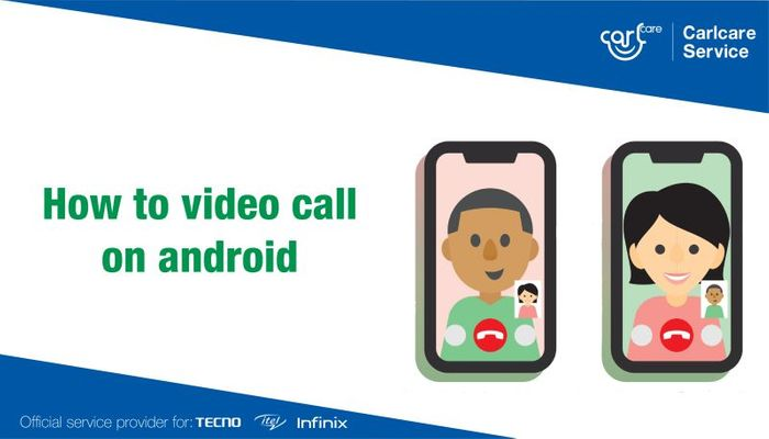how to make video calls on android