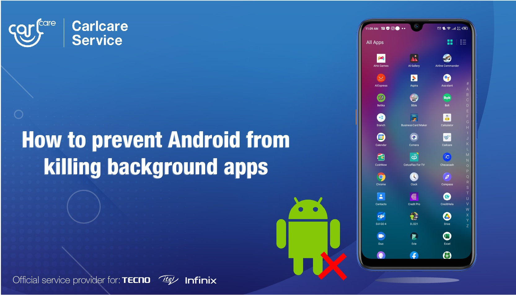 How to Prevent Android from Killing Background Apps