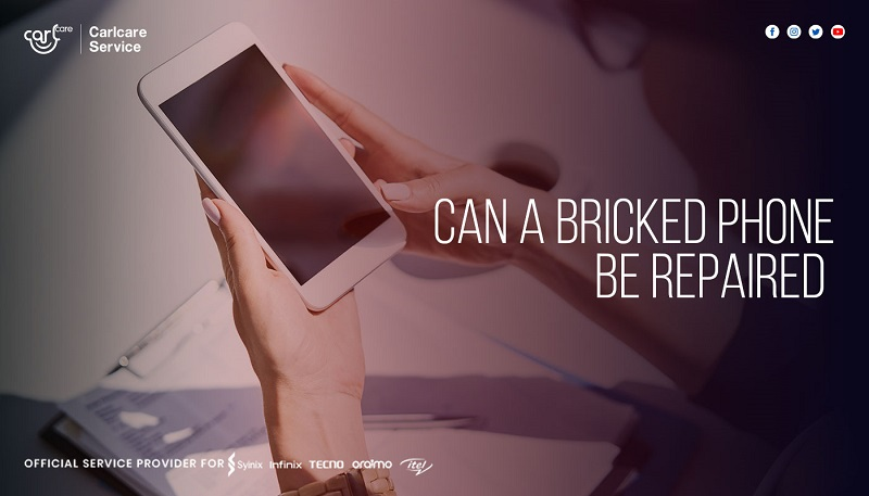 can a bricked phone be repaired