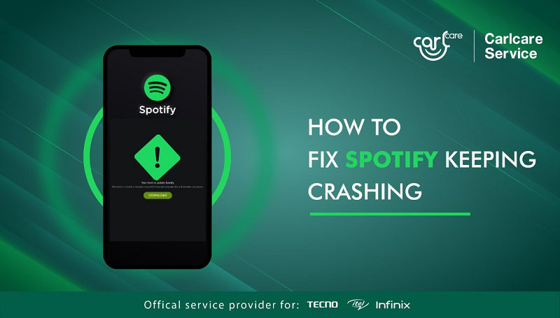 why Spotify keeps stopping and how to fix