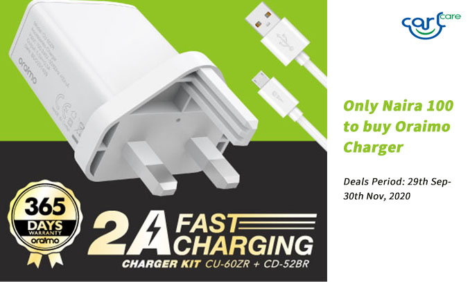 oraimo charger deal