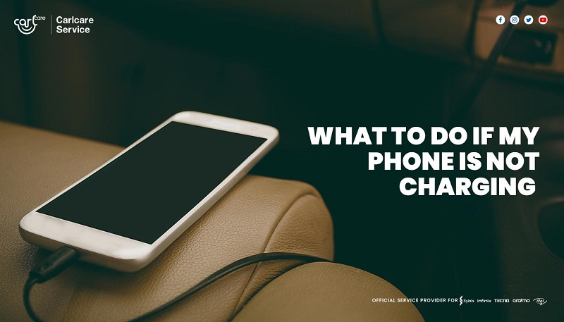 what to do if my phone is not charging