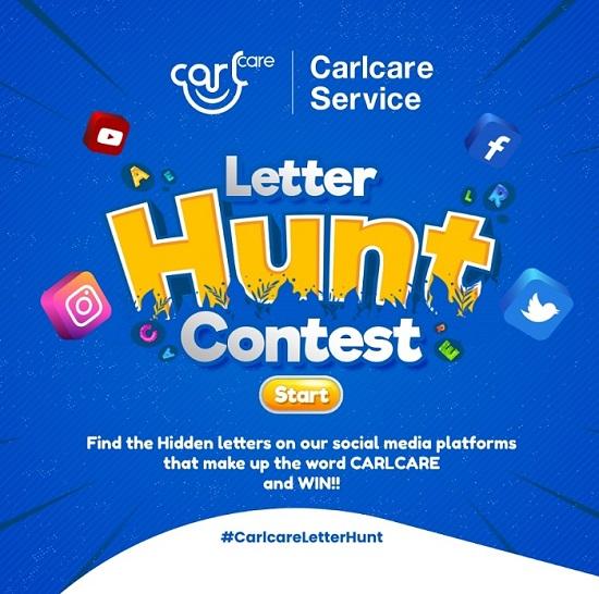 join carlcare letterhunt event