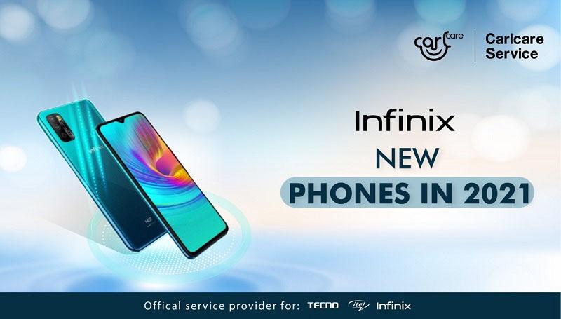 infinix new phones 2021
