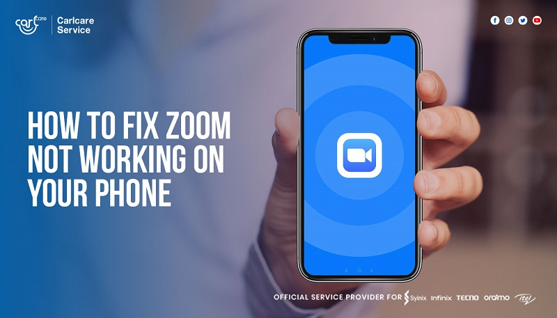 how to fix zoom not working