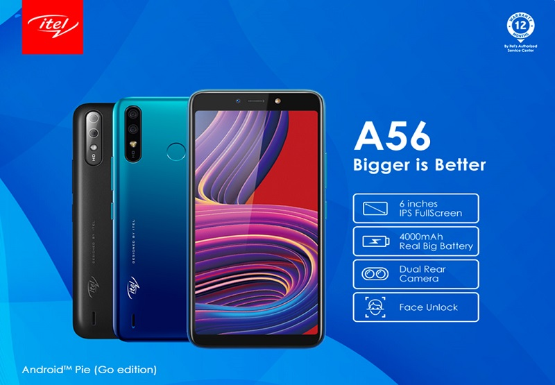 itel A56 free screen replacement