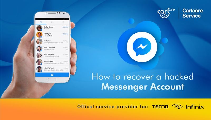 How to recover a hacked messenger account